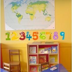 Vinilo infantil números