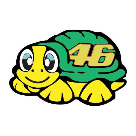 Adhesivo tortuga Rossi