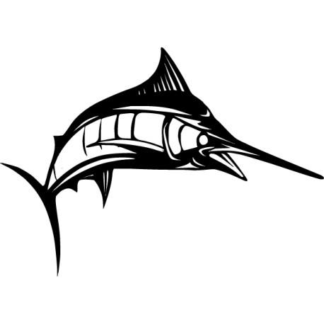 Vinilo pez espada