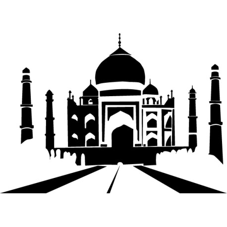 Vinilo decorativo Taj Mahal