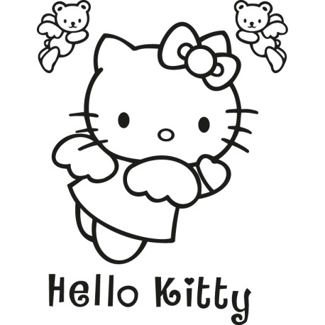 Vinilo Hello Kitty