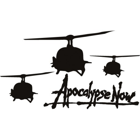 Vinilo decorativo Apocalypse Now