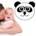 Vinilo cara panda