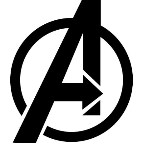 Adhesivo logo Avengers