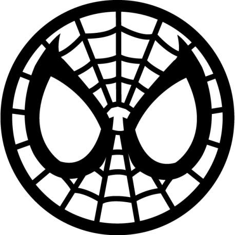 Vinilo cara Spiderman
