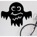 Vinilo pizarra fantasma Halloween