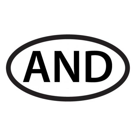 Adhesivo coche Andorra
