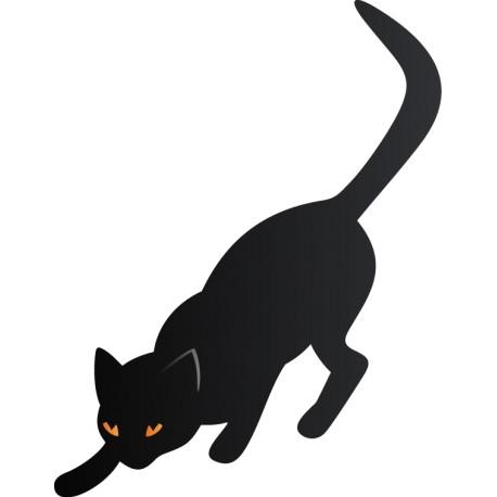 Vinilo Halloween gato
