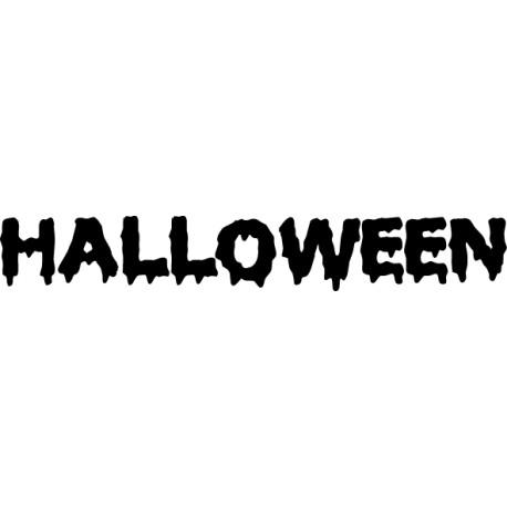 Adhesivo Halloween