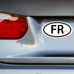 Pegatina coche Francia