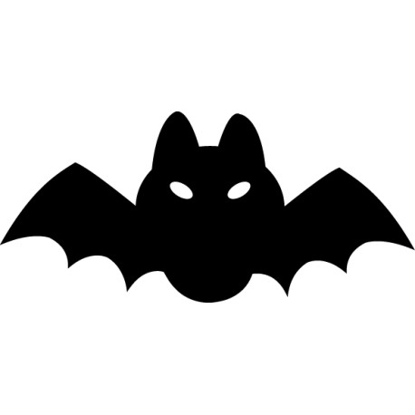 Vinilo pizarra murciélago