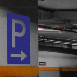 Pegatina Parking
