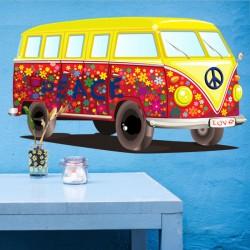 Vinilo furgoneta peace