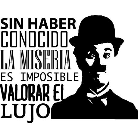 Vinilo decorativo lujo Chaplin