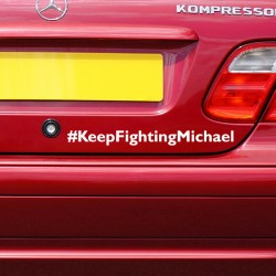 Pegatina lucha Schumacher