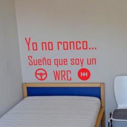 Vinilo roncar WRC