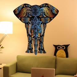 Vinilo elefante indio