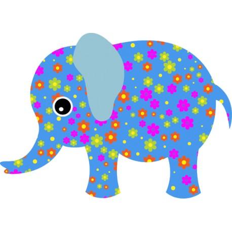 Vinilo elefante estampado