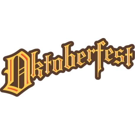 Vinilo texto Oktoberfest