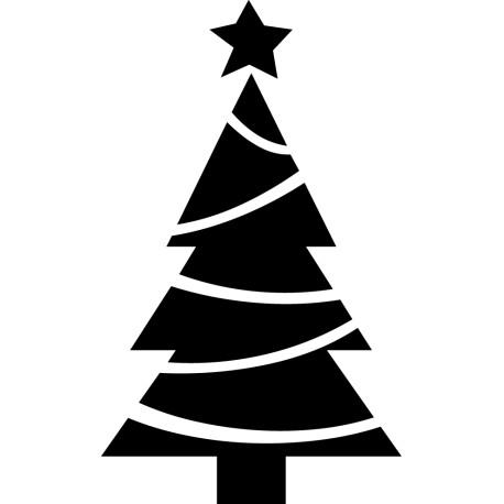árbol guirnalda de vinilo