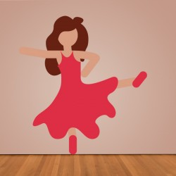 Vinilo flamenca Whatsapp