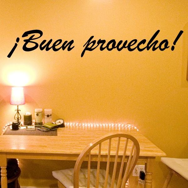 Vinilo Buen Provecho