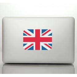 Pegatina portátil bandera inglesa