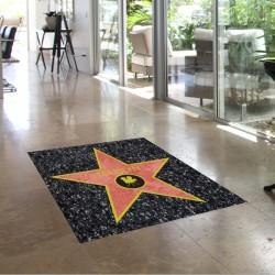 Adhesivo estrella Hollywood suelo