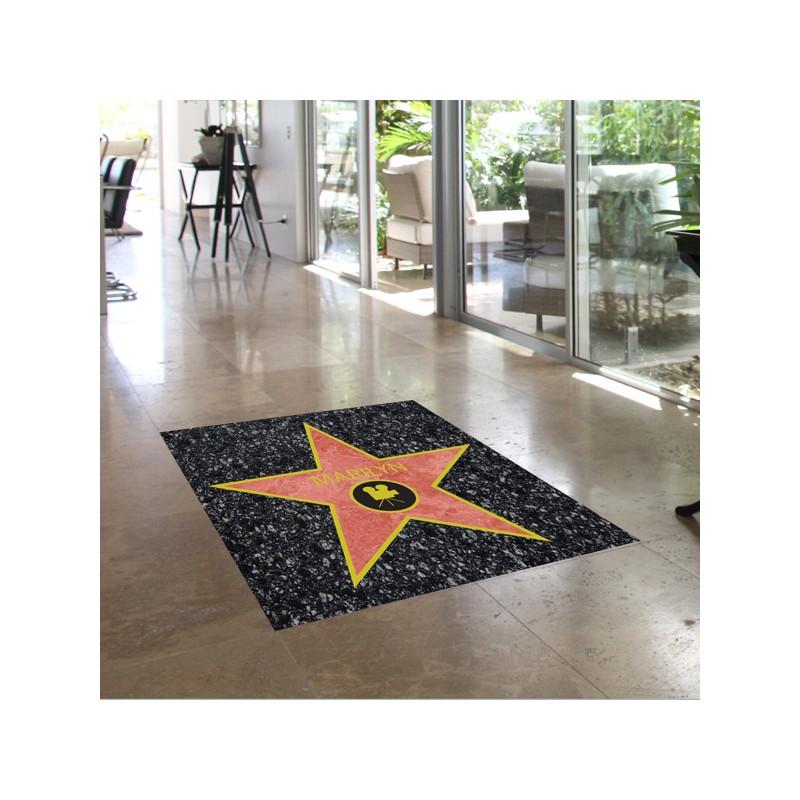 Adhesivo estrella hollywood suelo - Vinilos decorativos suelo ...