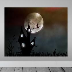 Vinilo bruja luna