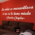 Vinilo vida Charles Chaplin