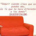 Vinilo frase Stallone