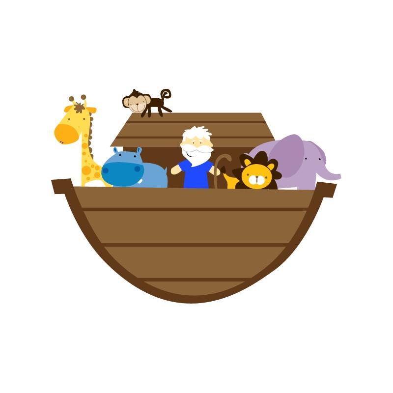 Vinilo infantil Arca de Noe