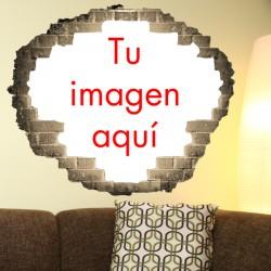 Vinilo agujero pared imagen
