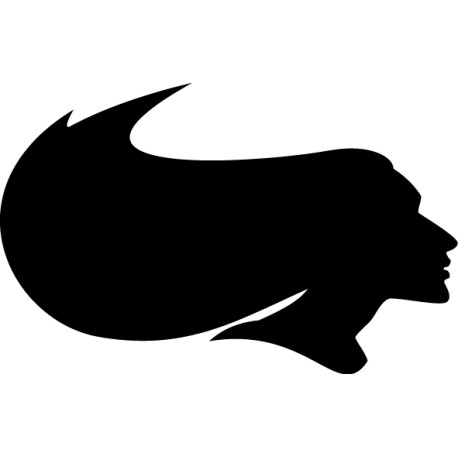 Vinilo silueta mujer