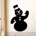 Vinilo muñeco nieve
