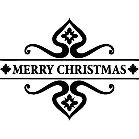 Adhesivo adorno christmas