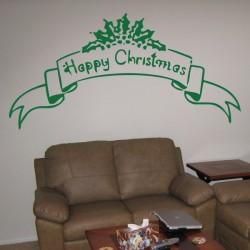 Vinilo Happy Christmas