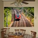 Fotomural vinilo Tren