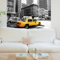 Vinilo taxi New York