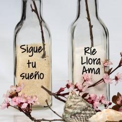 Vinilos frases para frascos