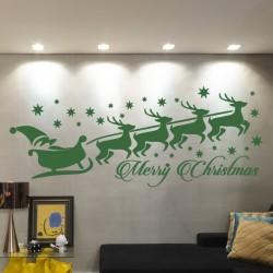 Vinilo Papa Noel Navidad