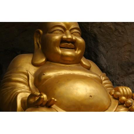 Fotomural vinilo Buda dorado