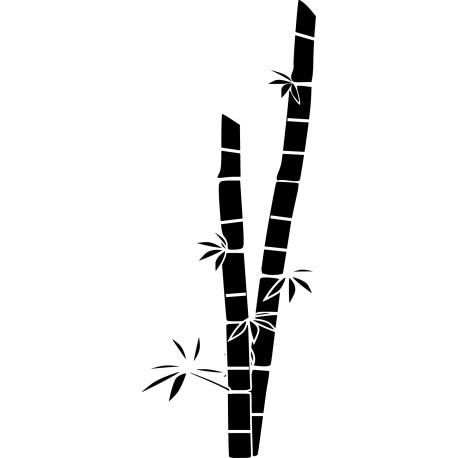 Vinilo caña de bambú