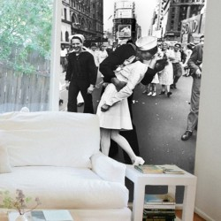 fotomural beso new york