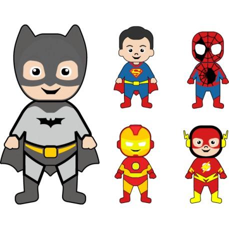 Vinilo infantil superhéroes