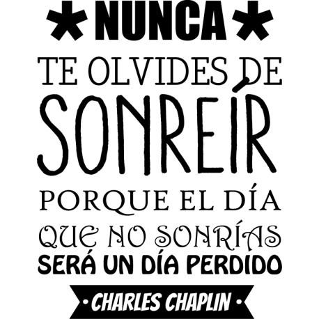 Vinilo sonrisa Chaplin