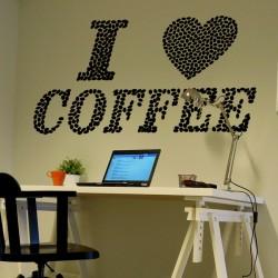 Vinilo I Love Coffee