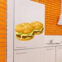 Vinilo hamburguesas