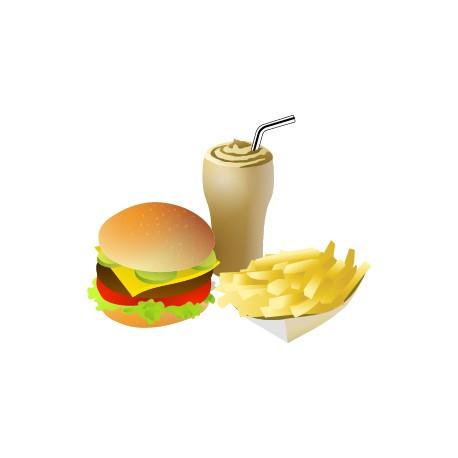 Vinilo comida rápida